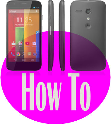Moto G How To Guide Moto G Phone Guide