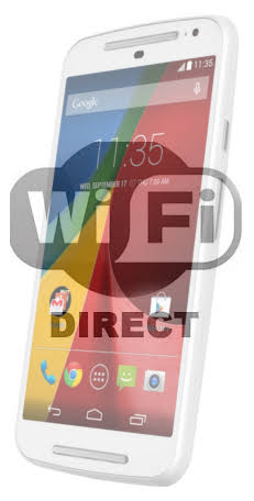 How to use Wi-Fi Direct to transfer files on Moto G, Moto E and Moto