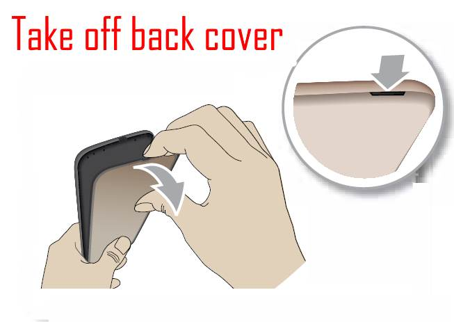 install Moto G5 SIM card